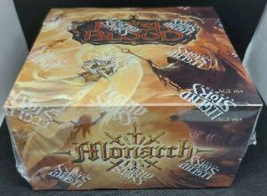 FACTORY SEALED! FLESH & BLOOD MONARCH 1ST EDITION HOBBY BOX 36 PACKS CASE FRESH
