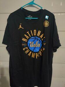 2021 National Champions UCLA Bruins Phantom T-shirt XXL