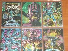 THE SILVER SURFER (1992) Complete Base Set Of 72 All-Prism Trading Cards Thanos