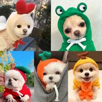 Pet Dog Hoodie Sweater Jumper Coat Warm Small Dogs Clothes Puppy Apparel Costume