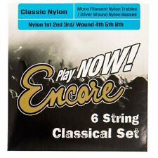 Encore Classical Guitar String Set Nylon Silver Wound - ECS6