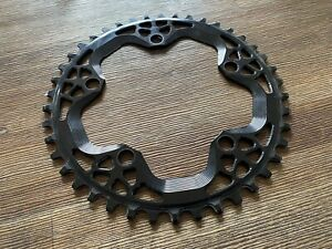 Absolute Black 1X Round 110 BCD Chainring 42T Narrow Wide 5 Bolt