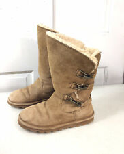 BEARPAW Suede Winter Boots Womens 6