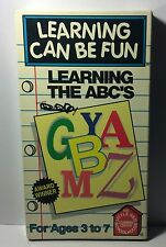 The Little Red Schoolhouse Learning can be fun Learning The ABC VHS HOME SCHOOL