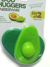 Farberware Food Huggers Avocado Home Kitchen Set of 2 Different Sizes New