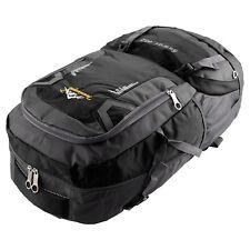 60l Waterproof Outdoor Climbing Travel Large Backpack Camping Rucksack Bag Black