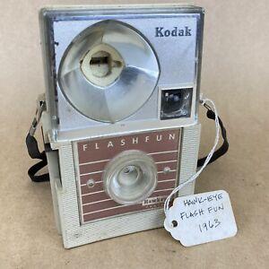 Kodak Hawkeye Flash Fun 1963 Vintage Bakelite Film Camera