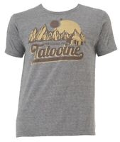 Star Wars Welcome to Tattooine Grey Heather Men's T-Shirt New