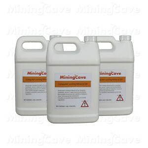 MiningCave Immersion Oil for PC 3 X 1 Gallon