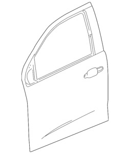 Genuine GM Outer Panel 23360177