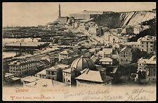 AX0241 Genova - Città - Panorama da San Rocco - Old postcard