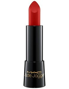MAC Jade Jagger Collection~ROLLING RED~Mineralize Rich Lipstick RARE! GLOBAL