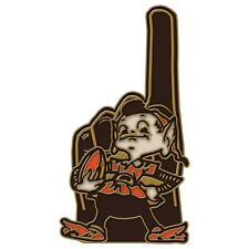 CLEVELAND BROWNS BROWNIE ELF MASCOT #1 COLLECTOR PIN BRAND NEW FREE SHIPPING