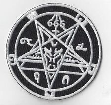 WITCHCRAFT , SLAYER  SIGN   IRON ON  PATCH BUY 2 GET 1 FREE = 3 OF THESE.