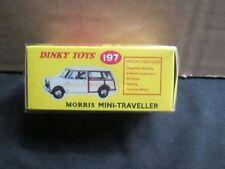 Dinky Morris Diecast Cars
