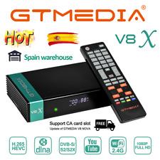 Gtmedia V8X(Update V8 Nova)Satellite Receiver DVB- S/S2/S2X Built in Wifi 1080p