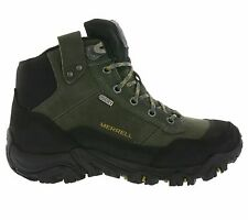 Men's sz 9 M MERRELL Polarand Rove Waterproof Leather Boots Castle Rock