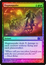Magmaquake FOIL Magic 2013 / M13 PLD Red Rare MAGIC GATHERING CARD ABUGames