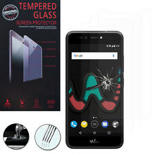 """3X Safety Glass for Wiko Upulse Lite 0.1oz 5.2 """" Screen Protector"""
