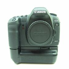 Canon EOS 5D Mark II 21.1MP Digital SLR Camera - Black (BATTERY GRIP) -BB-