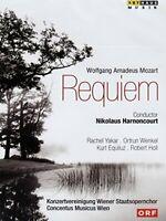 Mozart: Requiem [Nikolaus Harnoncourt, Rachel Yakar, Ortrun Wenkel,[Region 2]