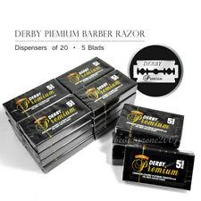 Derby Premium Double Edge Razor Blades x 25