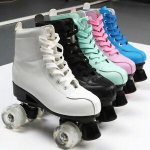Patins à roulettes  homme et femme Chaussures de Patinage coulissante 4 roues .