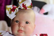 "Realistic 7 Lb (environ 3.18 kg) reborn toddler Donna Rubert 25"" cristal sunbeambabies baby doll"