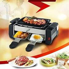 1000W 220V NonStick Electric BBQ Teppanyaki Smokeless Barbeque Grill Griddle Set