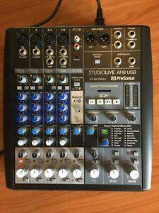 Presonus StudioLive AR8 8-Ch USB Audio Interface, Analog Mixer & SD Recorder