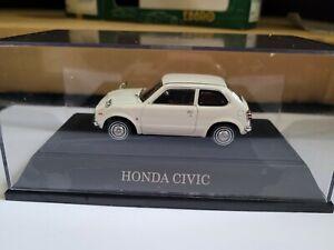EBBRO OLDIES - HONDA CIVIC [WHITE] CAR MINT BOX GOOD COMBINED POSTAGE