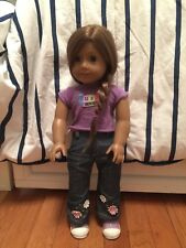 american girl doll Truly Me and American Girl Doll Sleeping Bag