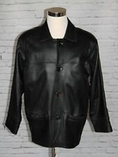 Marlboro Classics Genuine Lambskin Leather Jacket Marlboro Man Size 50 XL #CL