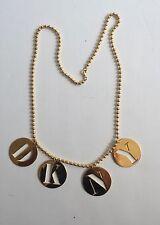 Vintage Original Robert Lee Morris DKNY Necklace 1980's