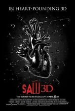 SAW 3D - Movie Poster - Flyer - 13.5x20 - VERSION A - TOBIN BELL