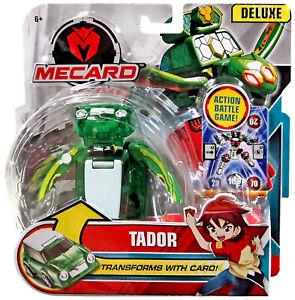 NEW Mattel GBP74 Mecard Deluxe Mecardimal TADOR Figure action battle game