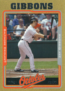 Jay Gibbons 2005 Topps Gold #103 Orioles card /2005