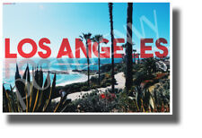 Los Angeles, California - NEW U.S State City Travel Poster (tr606)
