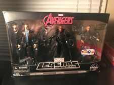 MARVEL LEGENDS INFINITE SERIES AVENGERS AGENT COULSON,NICK FURY,MARIA HILL
