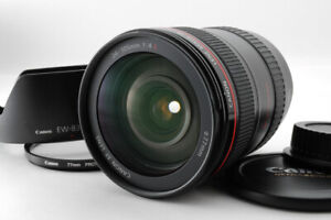 [Mint++] Canon EF 24-105mm f/4 L IS Ultra Sonic USM AF Lens + EW-83H From Japan