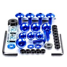 Pro-Bolt Aluminium Fairing Bolt Kit - Blue FYA055B Yamaha DT125R 88-04