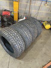 255/55r18 A/T.  Part Worn Tyres X4