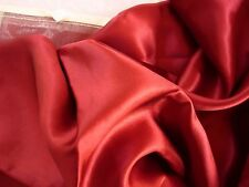 100%  Mulberry Silk charmeuse pillowcase STD/QUEEN pillow case Burgundy Red