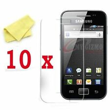 10 x Clear Screen Protectors 4 Samsung Galaxy Ace S5830 LCD Guard Shield Cover