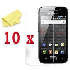 10 X Transparente Protectores De Pantalla 4 Samsung Galaxy Ace S5830 Protector De Pantalla Lcd Shield Cover