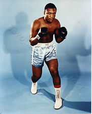 Joe Frazier 8x10 Color Photo SP206 Boxing Men