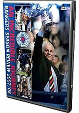 Glasgow Rangers - Season Review 2007-2008 (DVD, 2008)