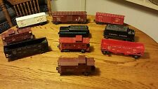 Vintage lionel train car lot