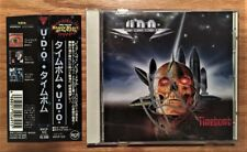 U.D.O. - Timebomb (Japan CD with OBI - Autographed by Udo Dirkschneider)