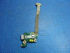 """Asus 15.6"""" N55VJ Genuine Laptop Audio Jack VGA Board w/Cable 60NB0030-IO1 GLP*"""